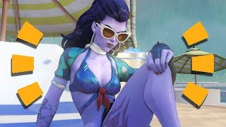 Overwatch - ALL SKINS SUMMER GAMES 2017