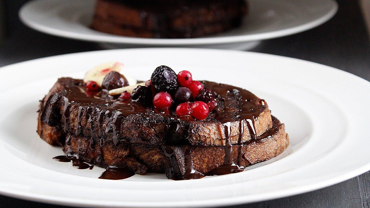 Pain Perdu Au Nutella pain perdu au chocolat recette gourmande ₪ pankaj sharma