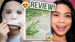 Nature Republic Tea Tree Face Mask (PRODUCT DEMO REVIEW)    MichsTheMicah