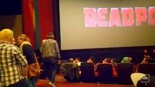 VLOG: DEADPOOL Private Advance Movie Screening    January 18, 2016