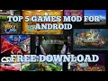 Top 50 Hacked Games For Android Apk Mod November 2019 Direc Link