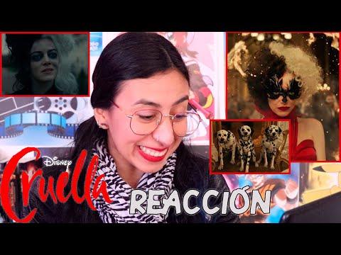 CRUELLA trailer REACCIÓN 🔥Emma Stone Cruella de Vil ✨Maritza Ariza