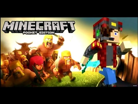 Clash Of Clans In Minecraft PE! - MCPE Maps