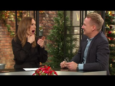 Skrattfest när programledarna testar spelet alla pratar om - Nyhetsmorgon (TV4)