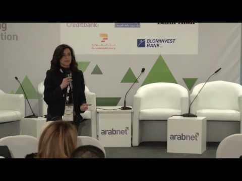 Financial Technology Ecosystem Building by Rana Sanyoura - ArabNet Beirut 2017