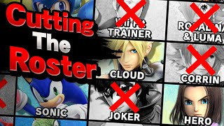 CUTTING the Smash Ultİmate Roster – Aaronitmar