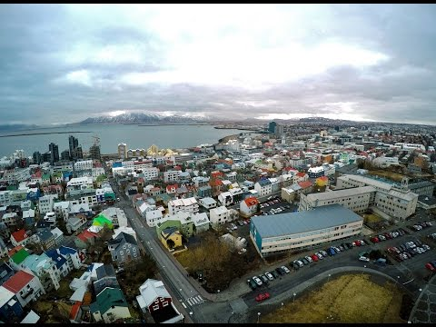AERIAL Iceland - Drone tour below the arctic circle - Reykjavik
