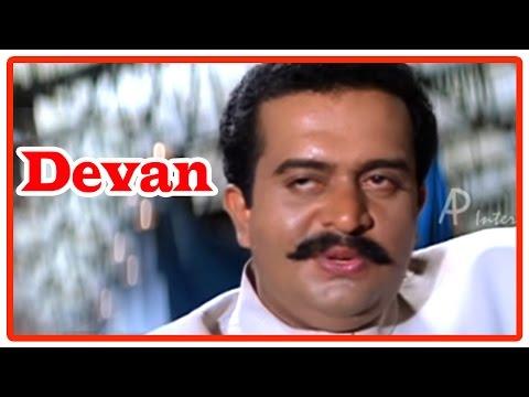Devan Tamil Movie   Climax Scene   Saikumar Killed   Arun Pandian   Vijayakanth   Meena
