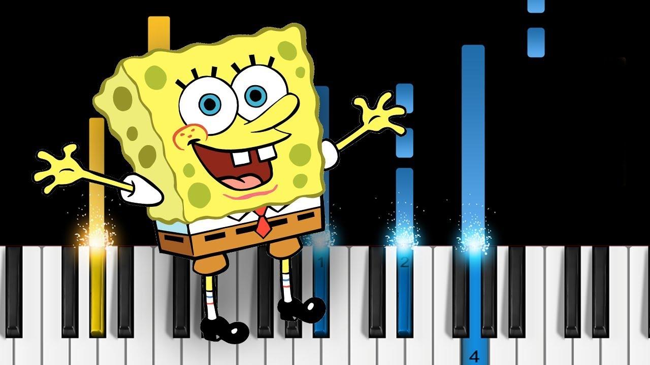 "Mark harrison ""spongebob squarepants theme song"" sheet music notes."