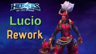 Lucio Rework (Jump off walls and High 5 to cleanse people)