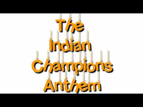The Indian Champions Anthem (song)