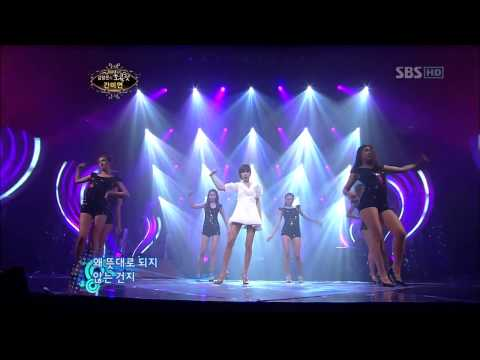 Kan Mi Yeon  and  Yoon Eun Hye Crazy Live