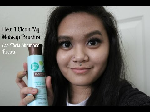 How I Clean My Makeup Brushes + Eco Tools Brush Shampoo Review