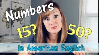 How to Say Numbers in English | American English Pronunciation