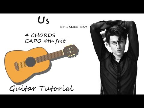 James Bay - Us - Guitar Lesson Tutorial Chords - How To Play - Cover