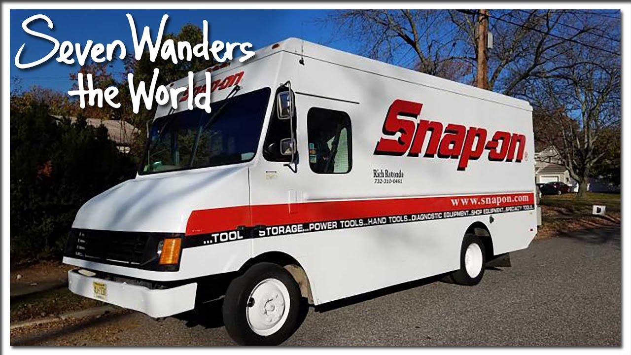 Snap On Tool Truck Step Van RV Conversion E193