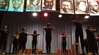 2015 morse marshall high school milwaukee (black history dance/step team)