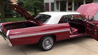 1962 Pontiac Bonneville - Absolutely Stunning - For sale now at www.bluelineclassics.com