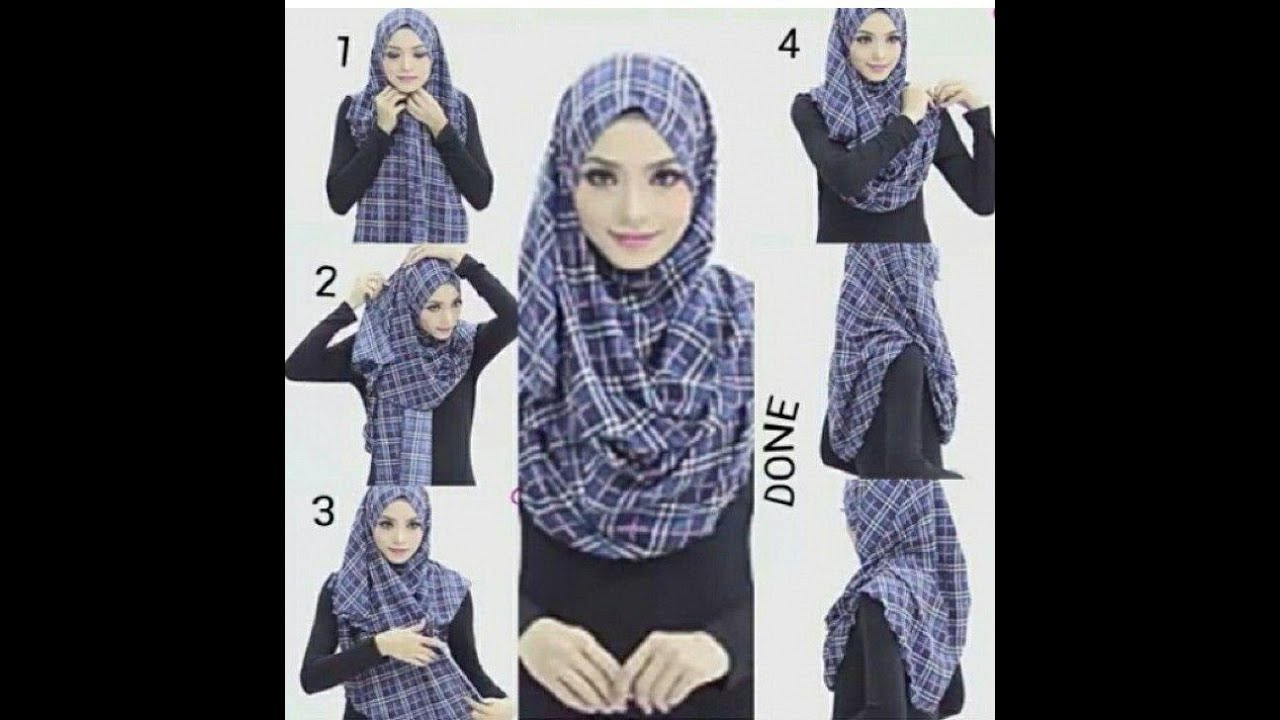 Turkish Hijab Style Step By Step 2016 Youtube