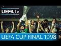 1998 UEFA Cup final highlights - Inter-Lazio