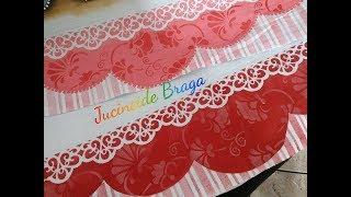 Gambar cover APRENDA A PINTAR  BARRADO FALSO - COM STENCIL OPA E  LITOART