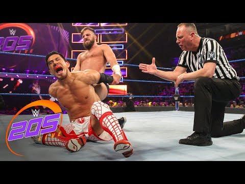 Akira Tozawa vs. Drew Gulak: WWE 205 Live, Jan. 2, 2019