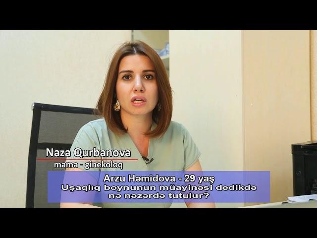 Ginekoloq cərrah Dr Naza Qurbanova