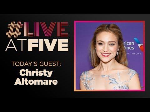 Broadway.com #LiveatFive with Christy Altomare of ANASTASIA