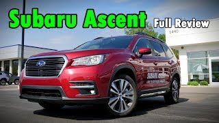 2019 Subaru Ascent: FULL REVIEW | Outback SUPERSIZED