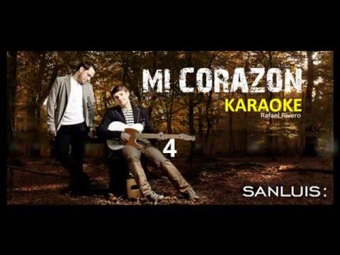 RIVERO KARAOKE Mi Corazon SANLUIS