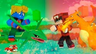 Minecraft: INIMIGOS DE FOGO   LIGA POKEMON #12