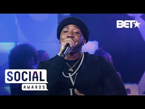 See YFN Lucci's Super Lit Performance | BET Social Awards