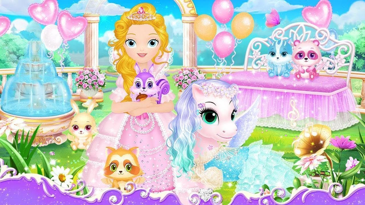 Princess Libii My Beloved Pony Horse Game Putri Elsa Dan Kuda Poni Unicorn Cantik Bermain Youtube