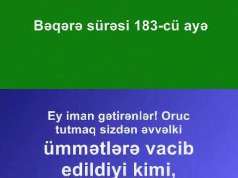 Hacı Şahin Ramazan ayı (Oruc) 2013 yeni
