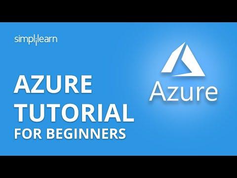 Azure Tutorial For Beginners   Microsoft Azure Tutorial For Beginners   Azure Tutorial   Simplilearn