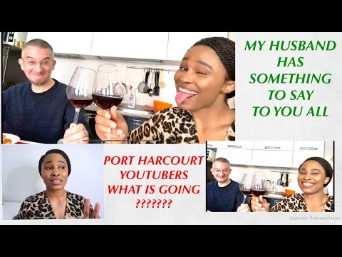 HE HAS SOMETHING TO SAY! PORT HARCOURT NIGERIA YOUTUBER's Oginidi (REACTION) Sunday Vlog #conme