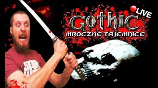 GOTHIC 1 - MROCZNE TAJEMNICE ☠️ WYPRAWA NA BAGNA! - Na żywo