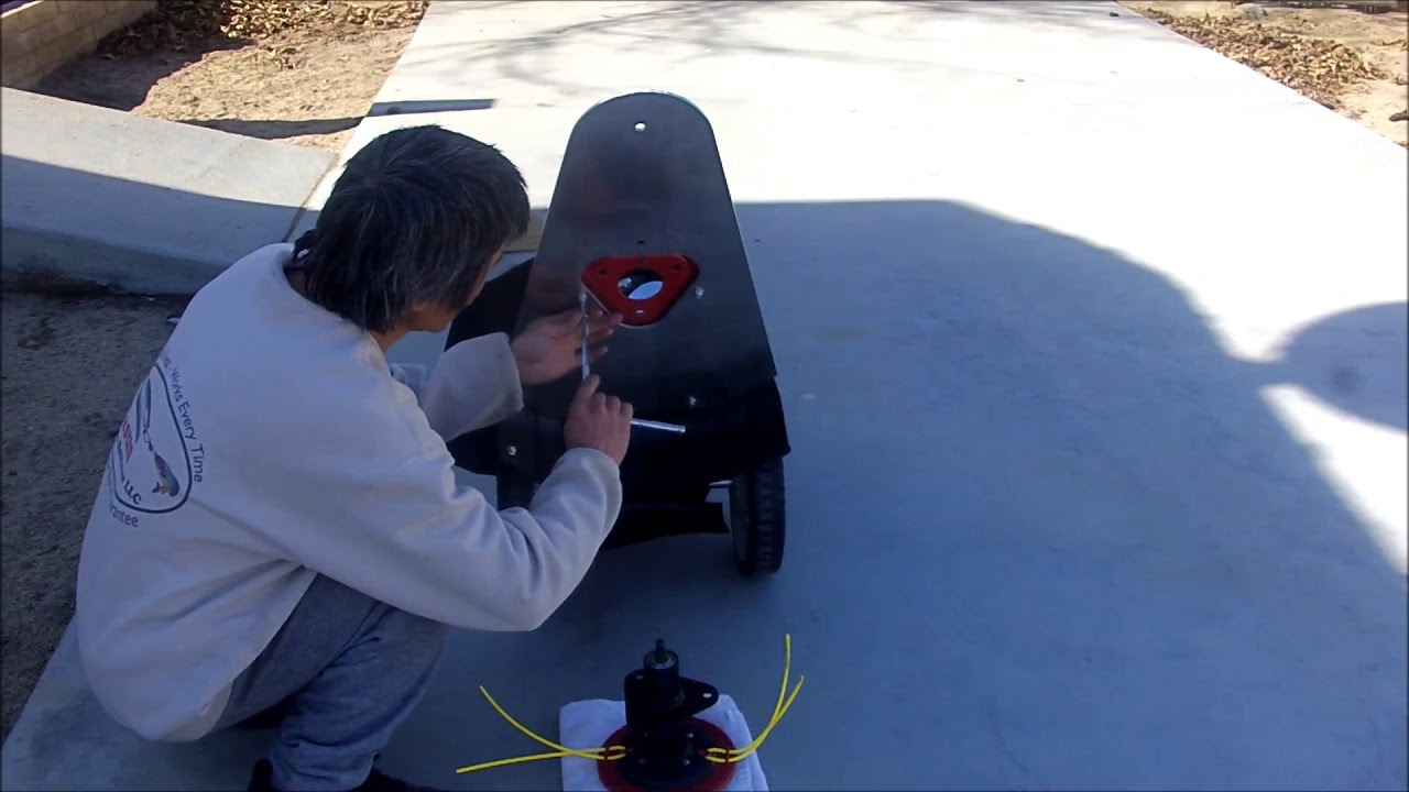 Pull My Strings Walk Tall: Southland Walk Behind String Trimmer With Awesome Wheel