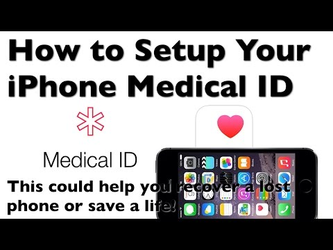 How to Setup Your iPhone Medical ID in the Health App
