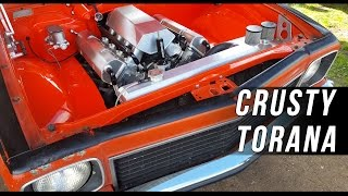 Crusty Torana goes stealth twin turbo