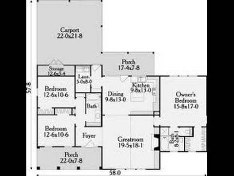 Planos de casas con medidas youtube for Planos de casas youtube
