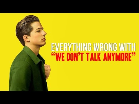 Everything Wrong With Charlie Puth -