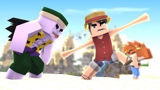 Minecraft One Piece NAMI TRAIU OS CHAPÉU DE