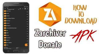 Gambar cover Download zarchiver pro apk For || 100% FREE