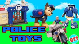 Funny learning videos for kids :Police Toys with Heatwave Rescue Bot