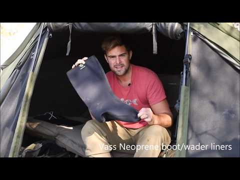 Vass Warm Neoprene Wader/Boot Liners Review By James Armstrong
