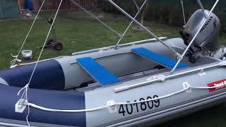 Nafukovací člun Boat 007 M360 s motorem Honda BF 20.