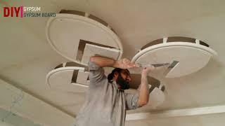 pop false ceiling designs for living room || DO IT YOURSELF