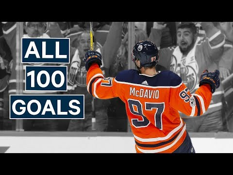 Re-live Connor McDavid's 1st 100 Goals