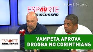 "Vampeta aprova Drogba no Corinthians: ""nome fantástico"""